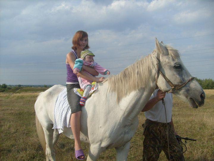 Это я,Тимошка!!!, мы катались на лошадке