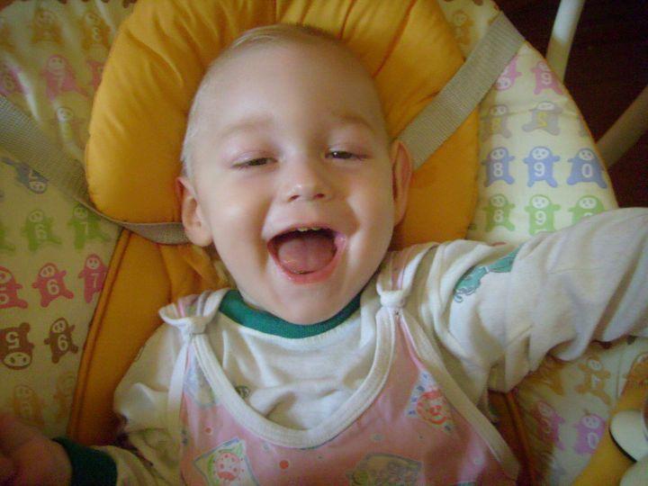 Это я,Тимошка!!!, Улыбка малыша-счастье для мамы