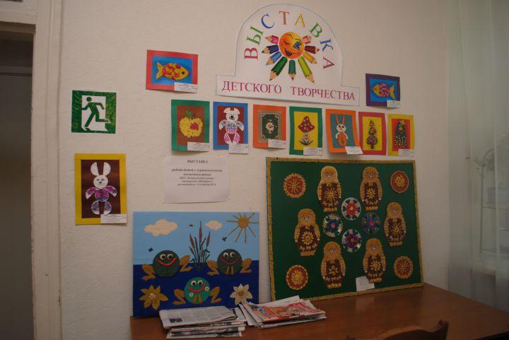 новая жизнь старых дисков, Выставка работ наших детей