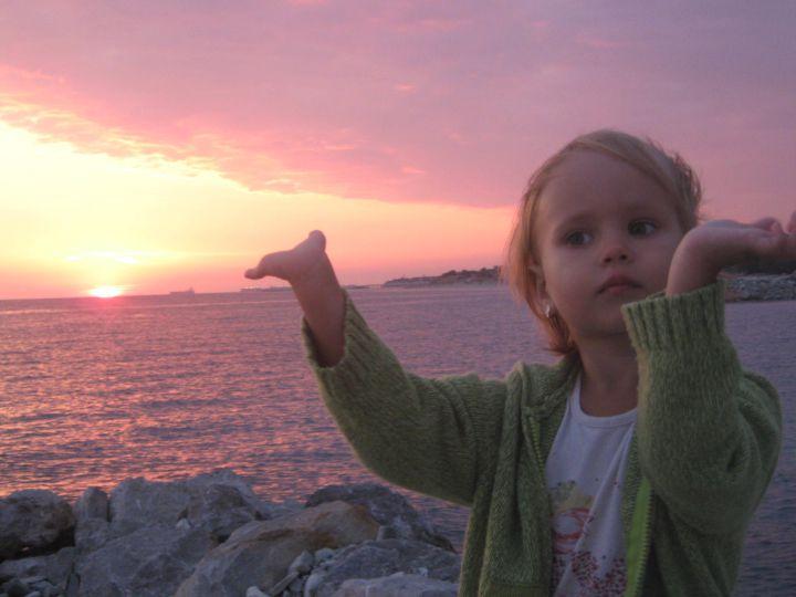 Евдокия 3г6мес.На море в сентябре., Фотографии наших детей