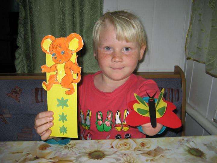наши апликации, Выставка работ наших детей