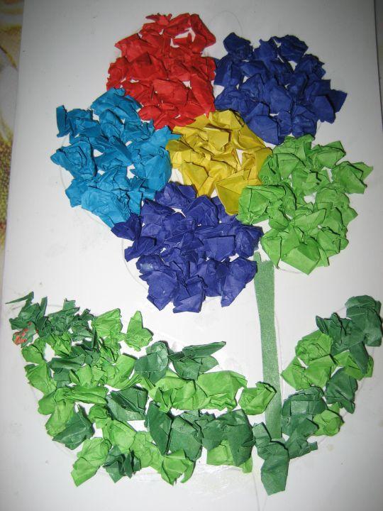 цветик-семицветик..., Выставка работ наших детей