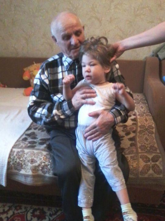 Настя с прадедушкой, Давайте познакомимся!